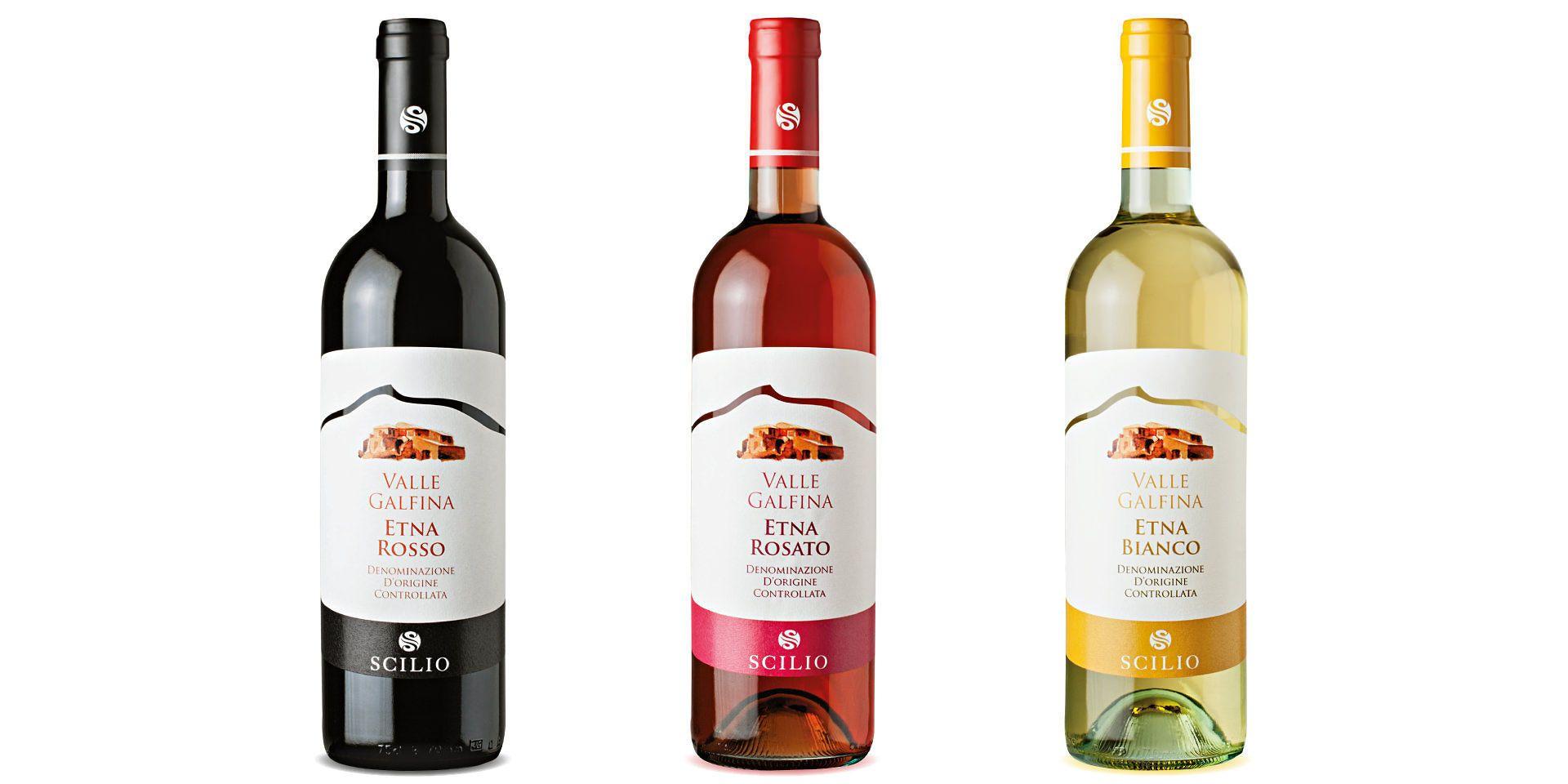 Restyling Per Le Etichette Di Vino Della Cantina Scilio